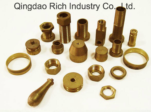 Brass Pipe Fitting Forging Brass Fire Reducer Part