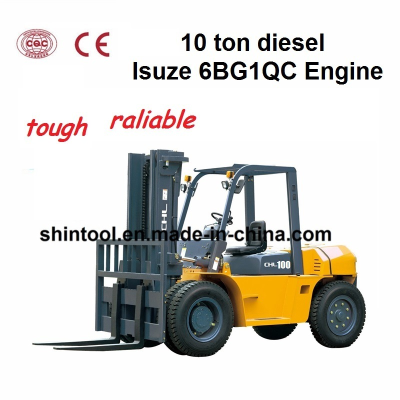 10 Ton Fork Lift : China heli ton forklift with high level quality