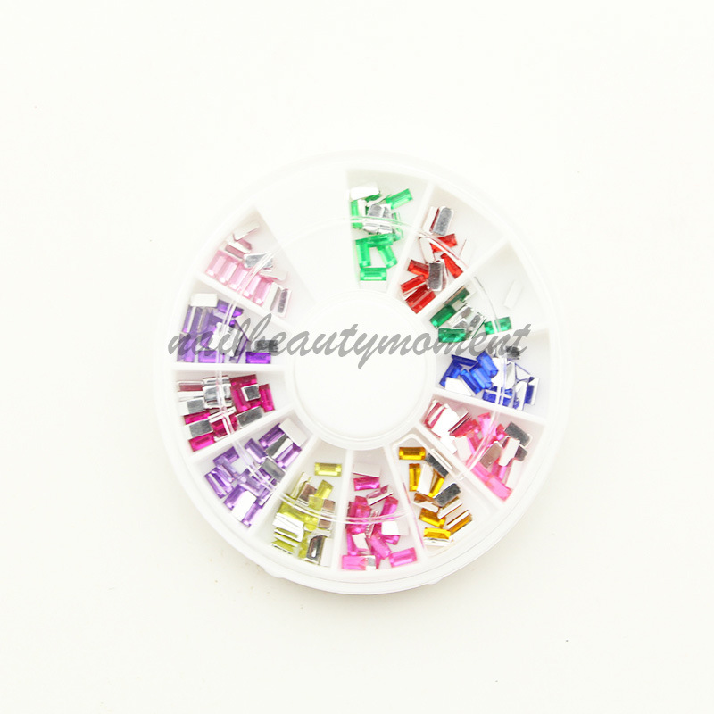 Rectangle 3D Nail Art Rhinestone for Nail Art Decoration (D17)