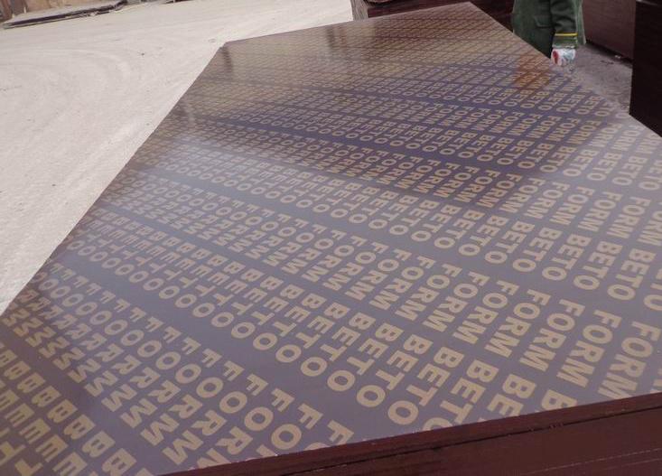 Film black de contreplaqu face aux mat riaux de construction film black de contreplaqu face - Panneau contreplaque marine ...