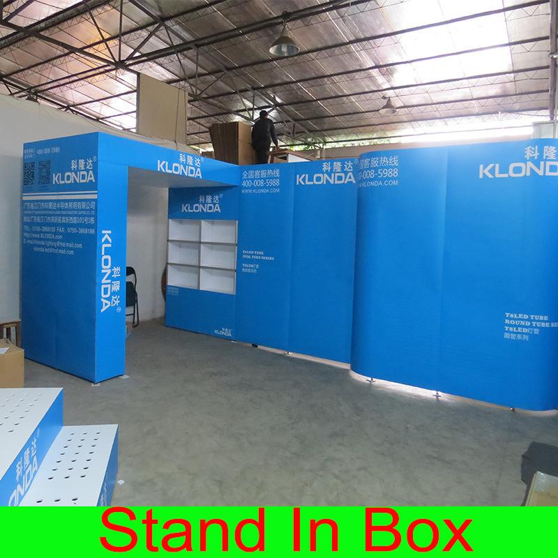 Portable Modular Exhibition Stands : China aluminum material special portable modular diy