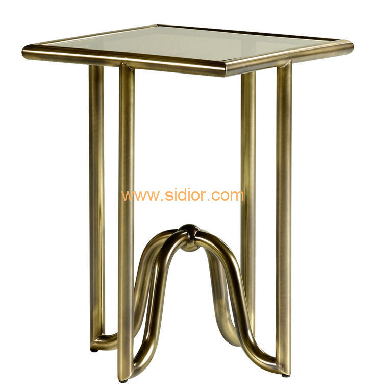 (CL-5503) Luxury Hotel Restaurant Club Furniture Glass Coffee Table