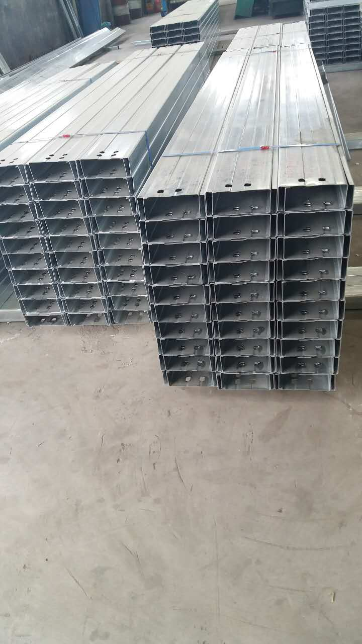 Hot DIP Galvanized HDG C Profile Steel