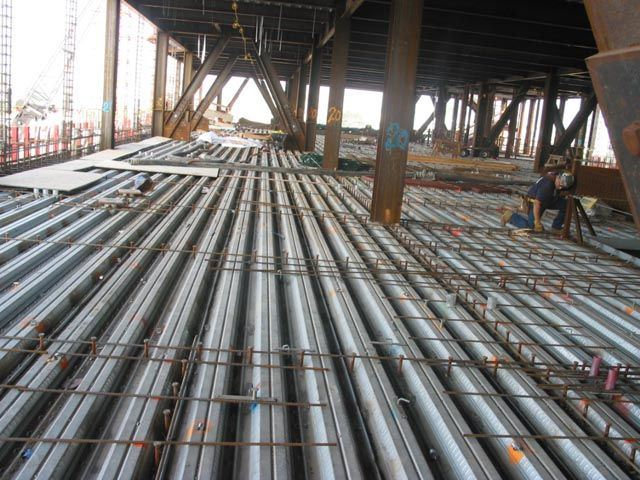 China Floor Decking House Use Composite Floor Steel