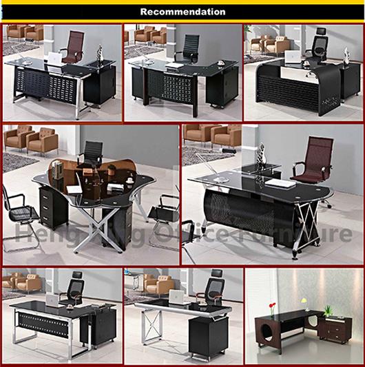 Escritorio ejecutivo glass tabla de la oficina moderna for Tipos de muebles de oficina