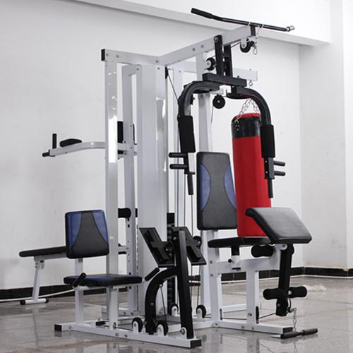 Estaci n multi inicio aparatos para hacer ejercicio con for Aparatos de ejercicio