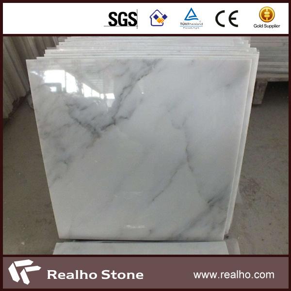 Par Marble Floor : Polished oriental white eastern marble tiles pour