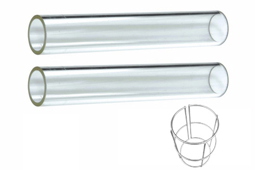 China Quarts Tubes Glass Tube Patio Heater Glass Tube