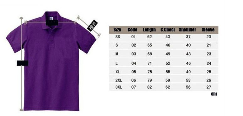 97 for High quality embroidered polo shirts