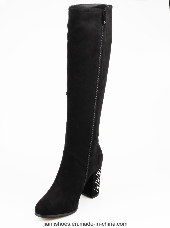 2018 Classic Style Knee-High Women Boots with Sexy Decoration (BT768)