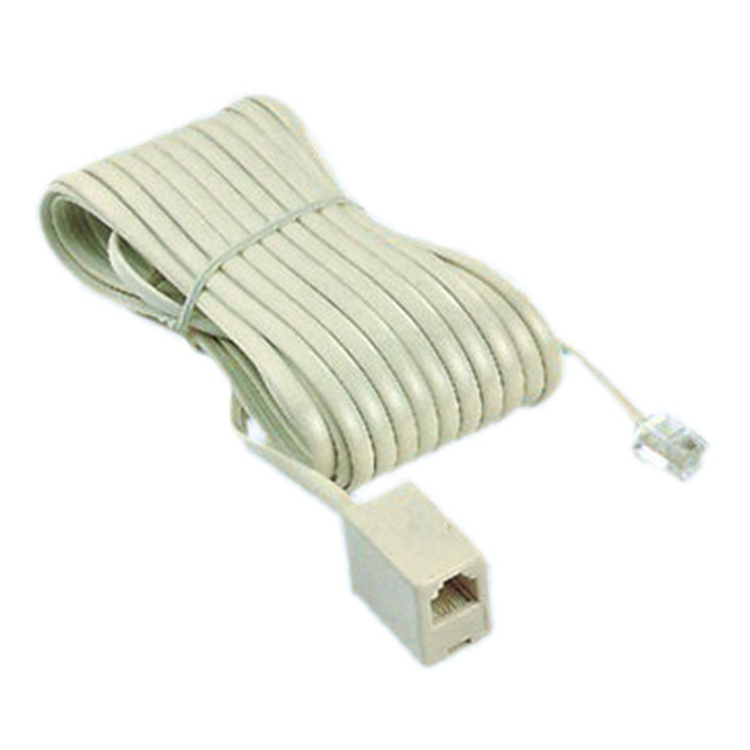 China Extension Cord : China telephone jack plug extension cord