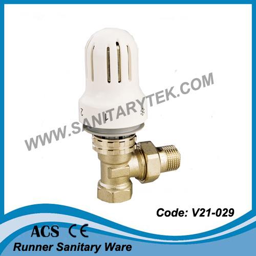 V lvula de radiador termost tica de ngulo v21 031 - Valvula termostatica radiador ...