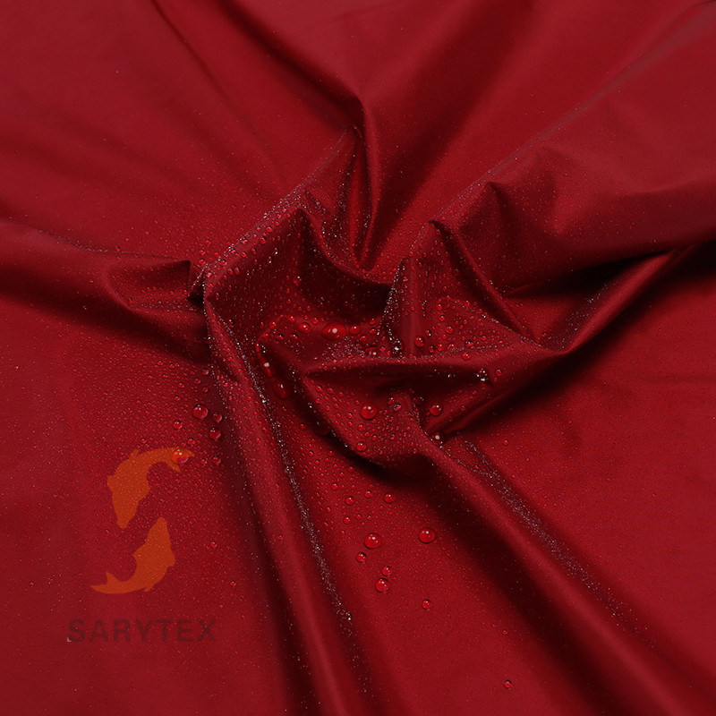 100% Nylon 20d Downproof Waterproof Fabric for Down Jacket