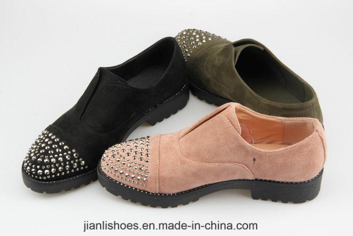 2018 الكلاسيكية انكلترا نمط عارضة الأحذية مع حجر الراين الديكور (OX60)