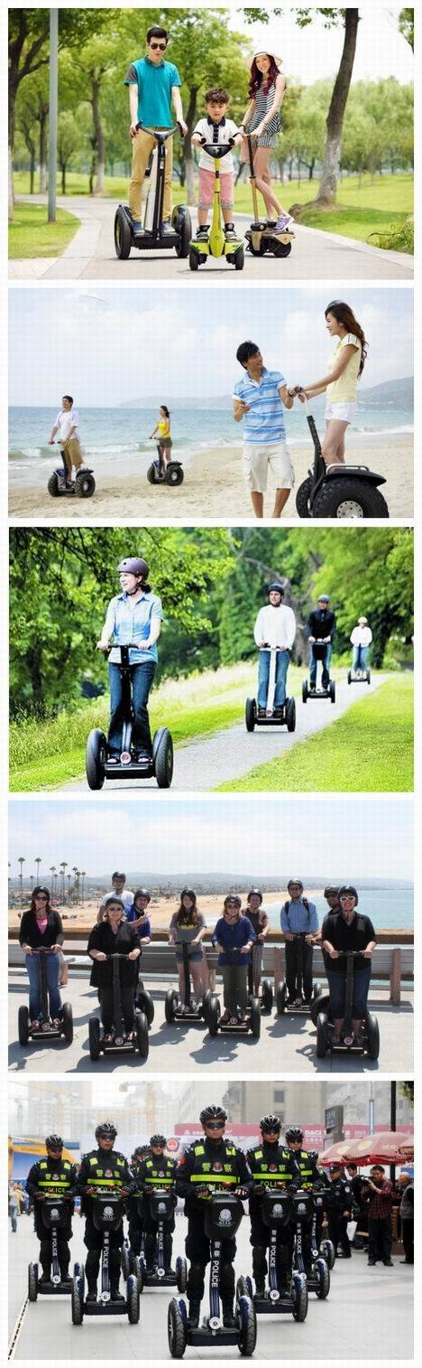Kingwheel Segway off-Road Lithium Battery Auto Balance Scooter (KW-D001)