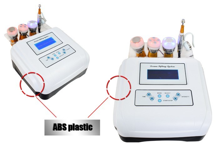 Ultrasonic Bio Wrinkle Dispelling No Needle Mesotherapy Nutrition Injection Equipment for Beauty Salon