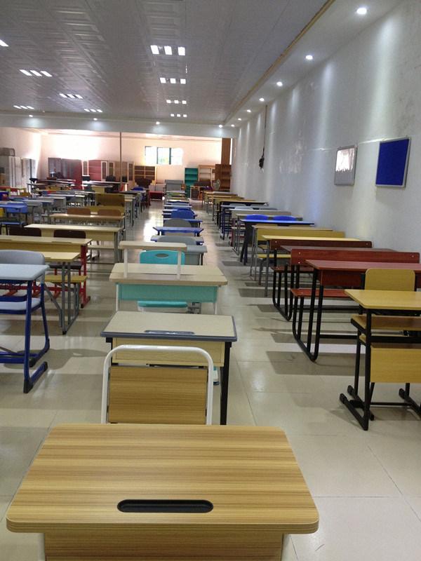 China Popular Folding Training Study Table With Wheels