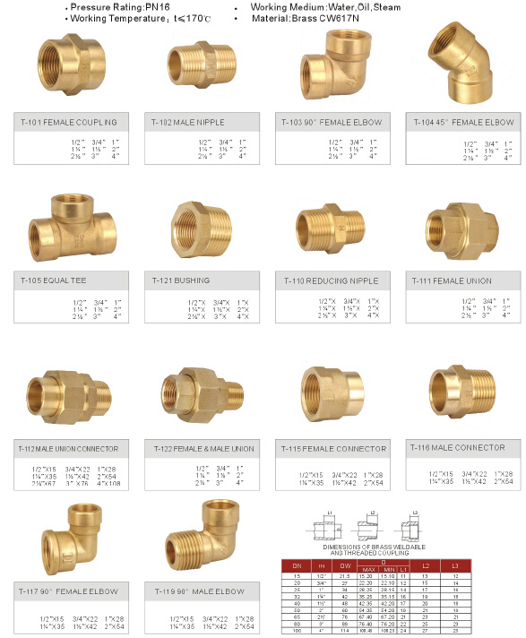 China brass fitting pipe copper