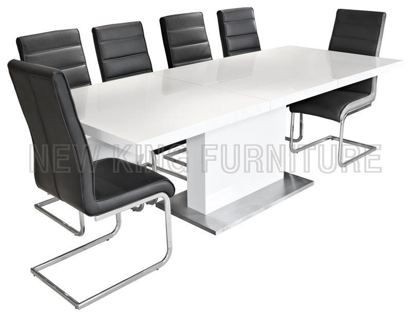 China modern big size cheap dining set furniture