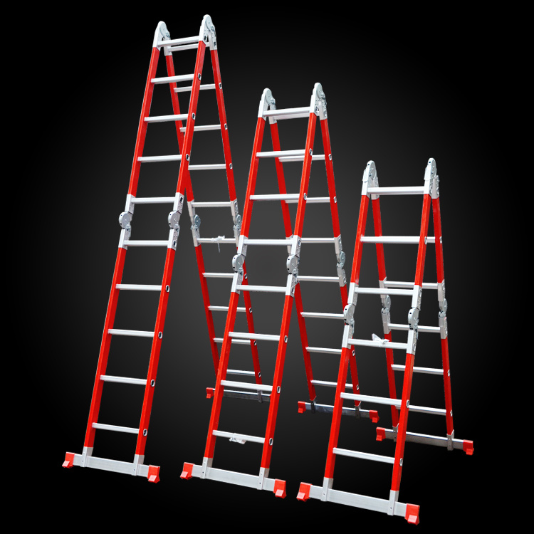 china fiberglass ladder multi purpose ladder joint ladder. Black Bedroom Furniture Sets. Home Design Ideas