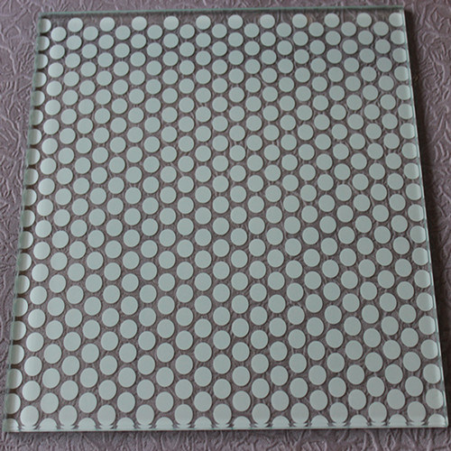 Ceramic Frit Laminated Glass With Silk Screen Printing
