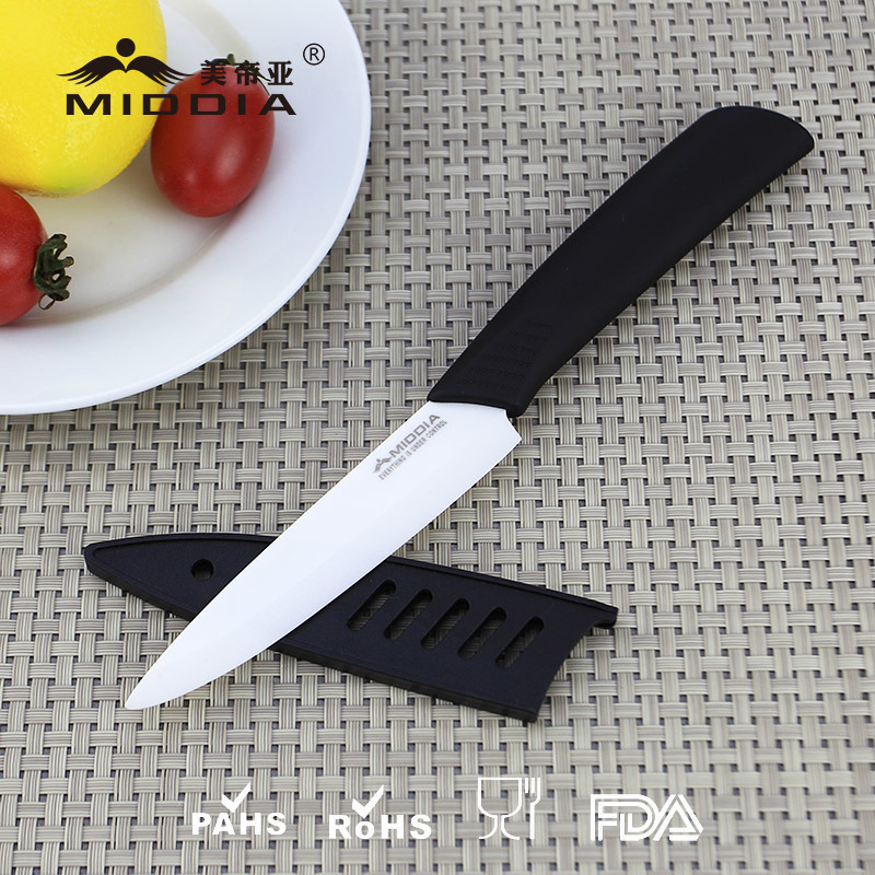 F brica de china cuchillo de fruta de cer mica de 4 for Cuchillo fruta