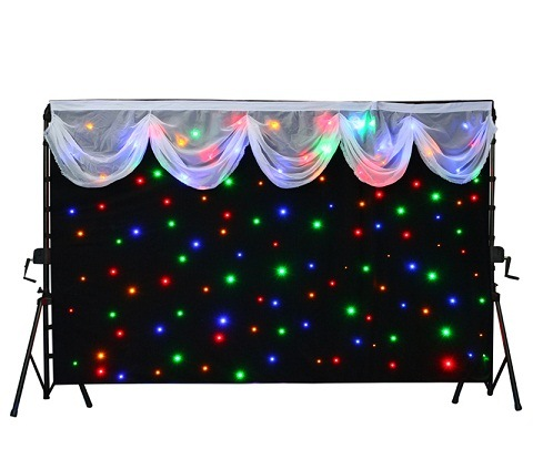 Stage Background에 있는 LED Star Curtain Star Cloth Used – Stage Background에 ...
