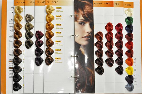 description de produit - Tableau Coloration Cheveux