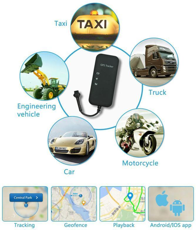 Auto Vehicle Car GPS Tracker Tracking Car Alarm GPS/GSM Trackers with 2g SIM Card