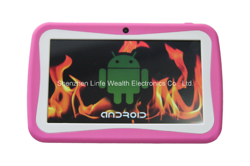 Fcatory 7 Inch Kids Tablet PC Children Tablet PC Quad-Core Android 5.1