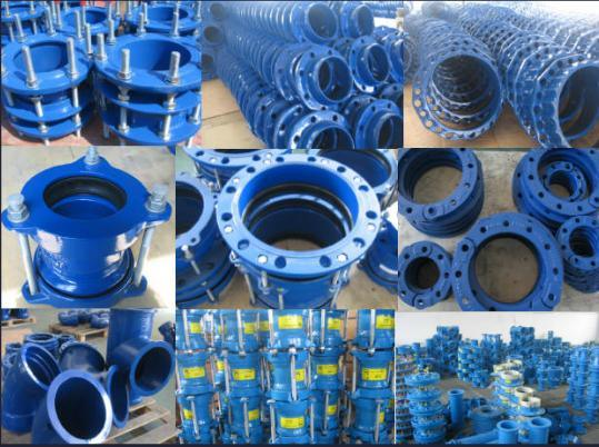 China ductile iron mechanical joint pipe fitting iso
