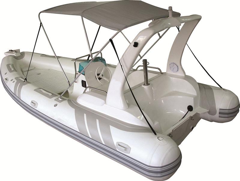 bateau pneumatique gonflable bateau moteur sport bateau de p che rib580b avec ce cert. Black Bedroom Furniture Sets. Home Design Ideas