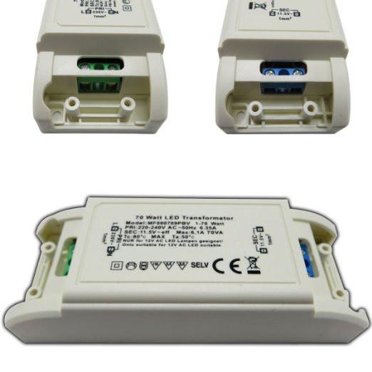 0-70W AC12V LED Power Supply LED Transformer