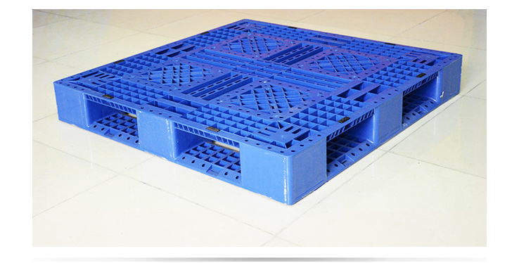 Heavy Duty Plastic Pallet for Stacking(Zg-1311 with 6 Steel Tubes