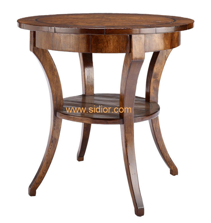(CL-5516) Classical Hotel Restaurant Public Lobby Furniture Wooden Coffee Table