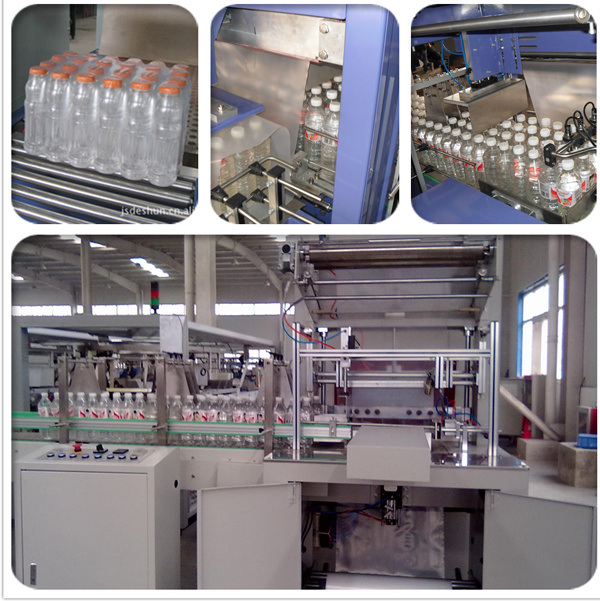 shrink wrapping machine for bottles