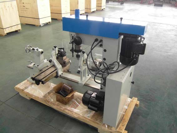 combination lathe milling drilling machine