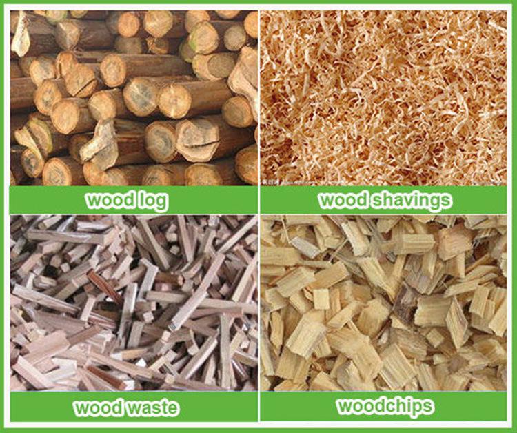 China wood sawdust pellet press machine