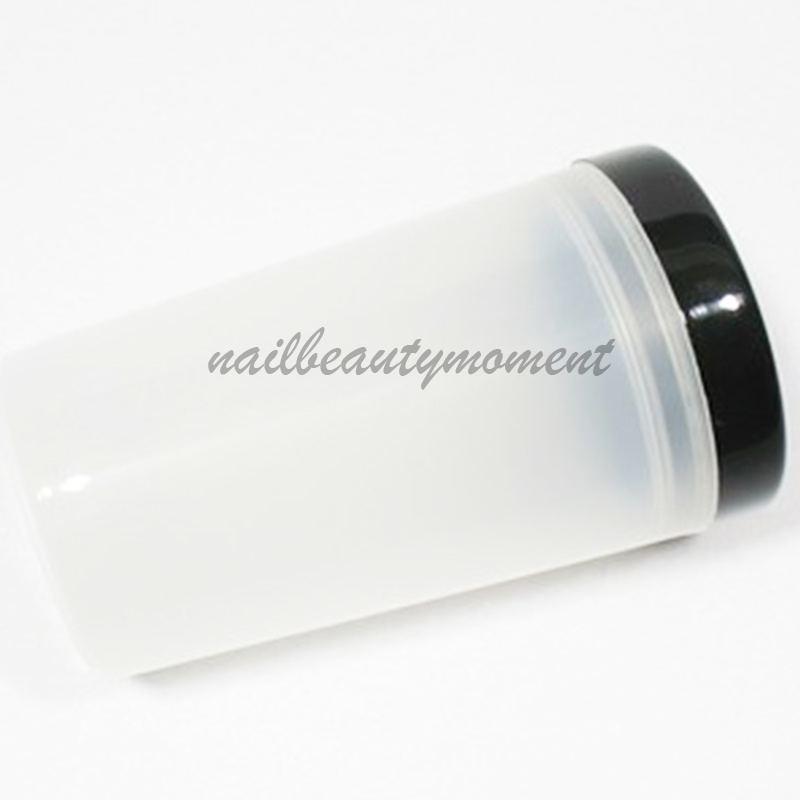 Nail Art Acrylic Pen Brush Cleaner Holder Manicure Bottle (C12)