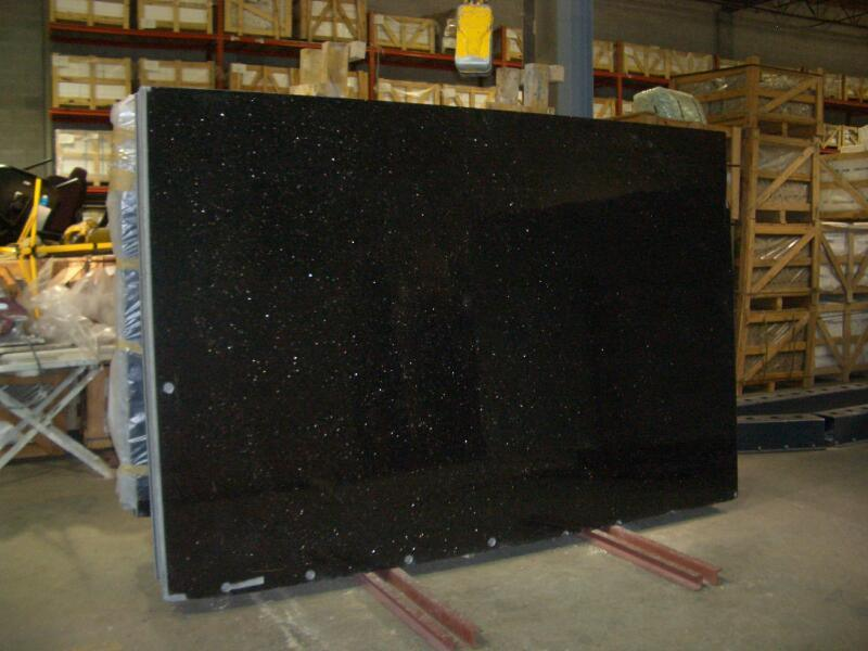 Polished Black Galaxy Granite For Tile Big Slab Yqc G1001 Buy