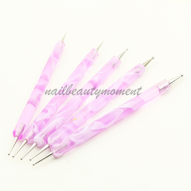 2 Ways Nail Art Dotting Pen Beauty Tools (B002)