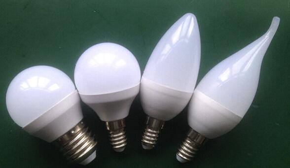 C37/G45 LED Bulb for Aluminum Plastic (3W, 4W, 5W)