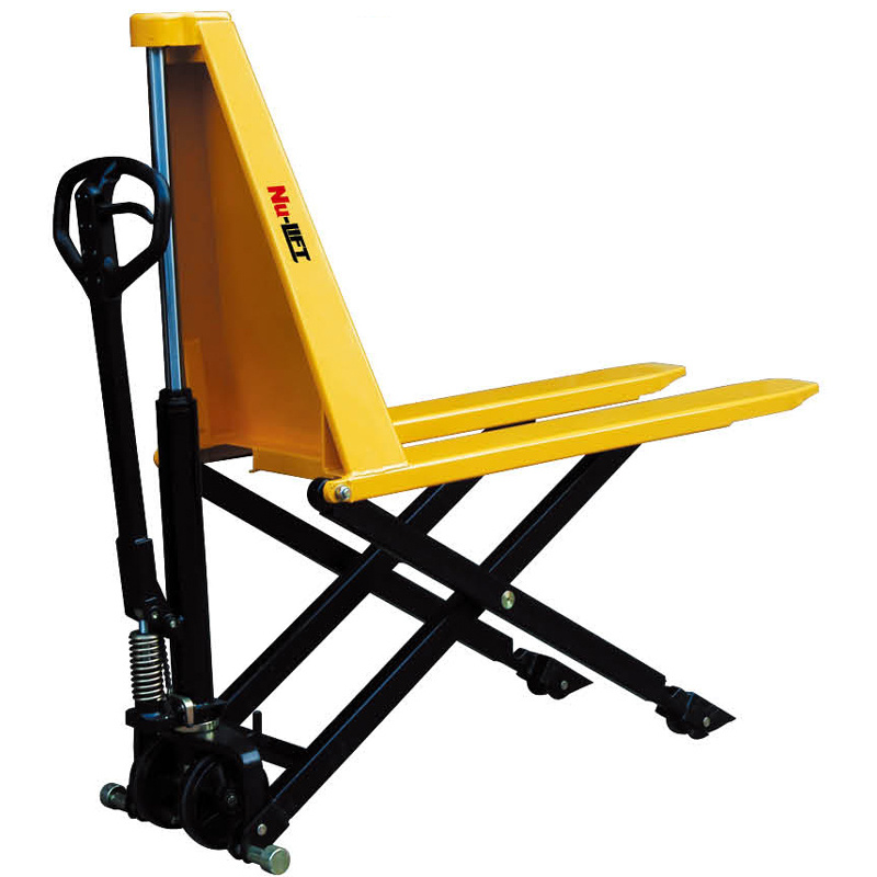 Manual Hydraulic Lift : China manual hydraulic high lift scissor truck