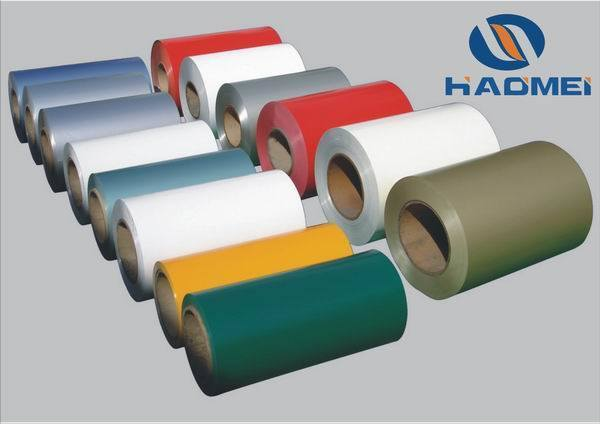 PVDF Color Coated Aluminum (for roofing)