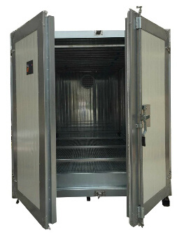 China natural gas heated powder coating curing oven for Paint curing oven