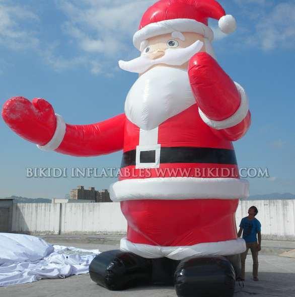 China santa claus balloon christmas inflatable c