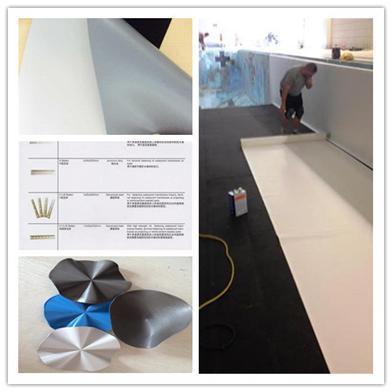 Mat riaux de toit de mat riaux de construction de pvc for Construction piscine geomembrane