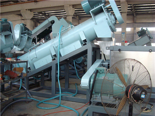 Waste Plastic Processing Machinery and Plastic Recycling Systsem