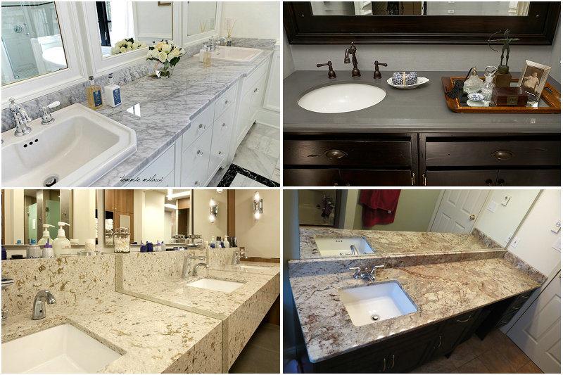 Bathroom vanities from home depot