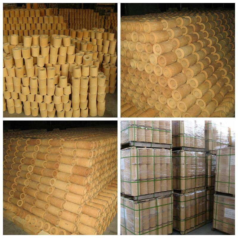 Fire Clay Pipes : China refractory runner brick or fire clay pipe